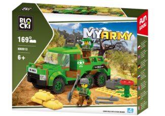 BLOCKI MyArmy Ciężarówka bojowa